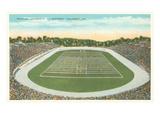 Football Stadium, Columbia, Missouri Print