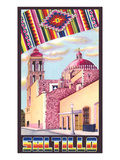 Poster for Saltillo, Mexico, Old Church Posters