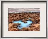 The Alien Pool Framed Photographic Print by Trey Ratcliff