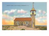 Gosport Church, Isle of Shoals, Portsmouth, New Hampshire Prints