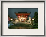A Parting Shot of the Temple Framed Photographic Print by Trey Ratcliff