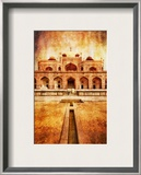 Romance in India Framed Photographic Print by Trey Ratcliff