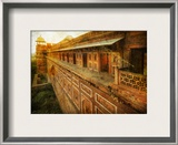The Mighty Temple Framed Photographic Print by Trey Ratcliff