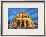 The Sacred Heart of Paris Framed Photographic Print by Trey Ratcliff