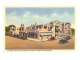 La Fonda Hotel, Santa Fe, New Mexico Posters