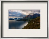 The Most Beautiful Road in the World Framed Photographic Print by Trey Ratcliff