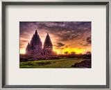 The Lost Hindu Temple in the Jungle Mist Framed Photographic Print by Trey Ratcliff