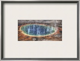 The Grand Prismatic Framed Photographic Print by Trey Ratcliff