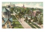 Capitol Avenue, Omaha, Nebraska Prints