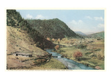 Upper Pecos River Canyon, New Mexico Poster