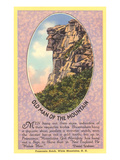 Old Man of the Mountain, Quote, New Hampshire Prints