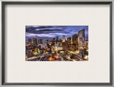 Five Minutes of Light in Houston Framed Photographic Print by Trey Ratcliff