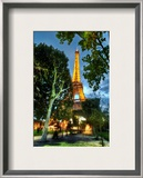 Walking to Dinner in Paris Framed Photographic Print by Trey Ratcliff