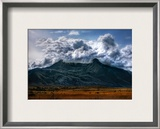 The Violent Volcano Framed Photographic Print by Trey Ratcliff