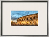 Sting in Concert in Nimes Framed Photographic Print by Trey Ratcliff