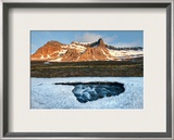 Delicate Ice in Spring Framed Photographic Print by Trey Ratcliff
