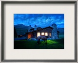 An Evening Stroll Around the Cabin Framed Photographic Print by Trey Ratcliff