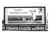 Billboard, Happy Mothers Day, Lady Golfer Posters