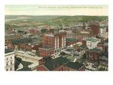 Stadtzentrum von Kansas City, Missouri Kunstdrucke