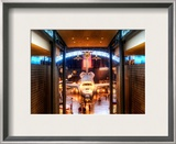 The Shuttle in Spacedock Framed Photographic Print by Trey Ratcliff