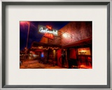 The Continental Club on South Congress in Austin Framed Photographic Print by Trey Ratcliff