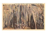 Crystal Grotto, Carlsbad Caverns, New Mexico Prints
