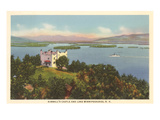 Kimball's Castle, Lake Winnipesaukee, New Hampshire Print