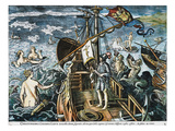 Christopher Columbus Giclee Print by Adrianus Collaert