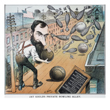 Jay Gould Cartoon, 1882 Giclee Print by Frederick Burr Opper