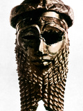 Nineveh: Bronze Head Photographic Print