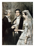 Currier: The Marriage Prints by  Currier & Ives