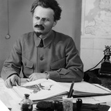 Leon Trotsky (1879-1940) Photographic Print