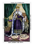 King Andrew The First Giclee Print