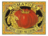 Tomato Can Label Giclee Print