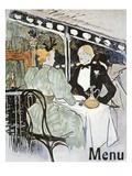 Toulouse-Lautrec: Menu Giclee Print by Henri de Toulouse-Lautrec