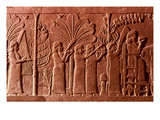 Assyrian Queen, 645 B.C Prints