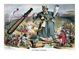 T. Roosevelt Cartoon Giclee Print by Louis Dalrymple