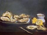 Ostras, 1862 Lámina giclée por Édouard Manet
