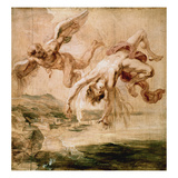 Rubens:Fall Of Icarus 1637 Giclee Print by Peter Paul Rubens