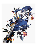 Audubon: Blue Jay Giclee Print by John James Audubon