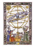 Armillary Sphere Giclee Print by Johannes de Sacrobosco