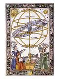 Armillary Sphere Premium Giclee Print by Johannes de Sacrobosco