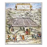 Peru: Cuzco, 1572 Giclee Print