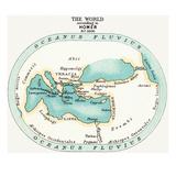 World Map, C1000 B.C Prints