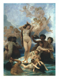 Bouguereau: Birth Of Venus Poster by William Adolphe Bouguereau