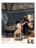 Gerome: The Bath, 1880 Giclee Print by Jean Leon Gerome