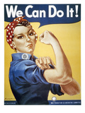 WWII: Rosie The Riveter Giclee Print