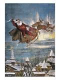 Thomas Nast: Santa Claus Giclee Print by Thomas Nast