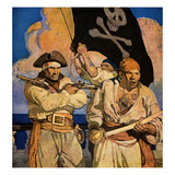 Wyeth: Treasure Island Giclee Print by Newell Convers Wyeth