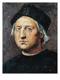 Christopher Columbus Giclée-tryk af Ridolfo Ghirlandaio